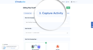 Capture Activity Tab