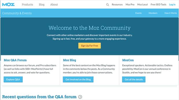 moz community example