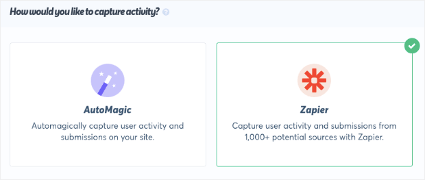 Connect with Zapier