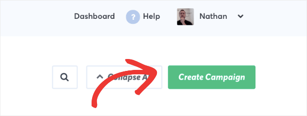 Create a new campaign in TrustPulse