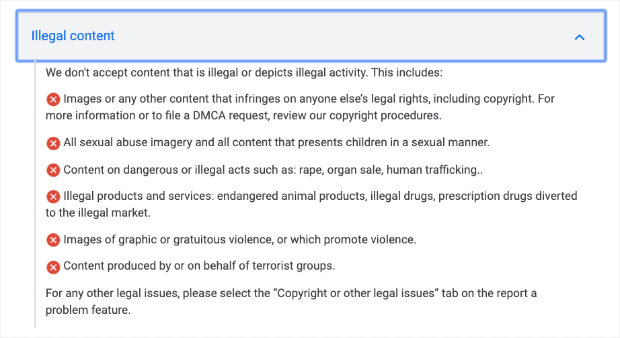 Google-Review-Policy-No-Illegal-Activity