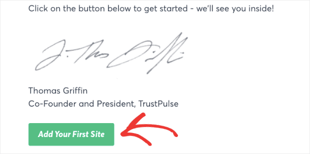 Add-Your-First-Site-with-TrustPulse