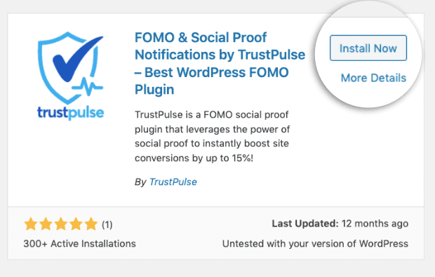 Install-Now-TrustPulse-plugin