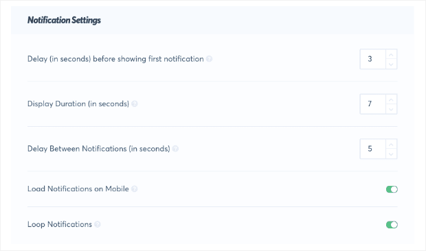 Notification-Settings