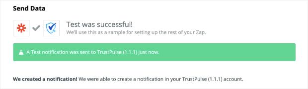 Test confirmation for ClickFunnels conversion alert
