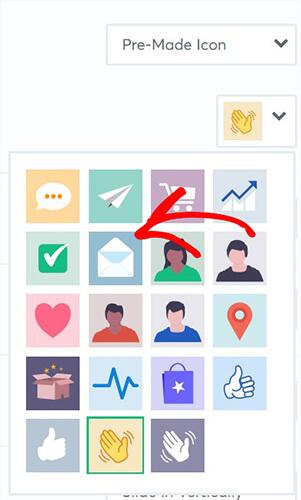 TrustPulse premade icons