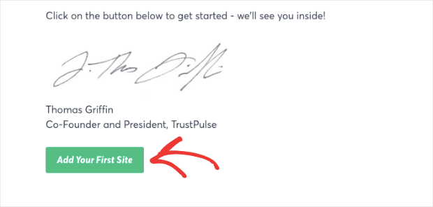 Add Your First Site to TrustPulse