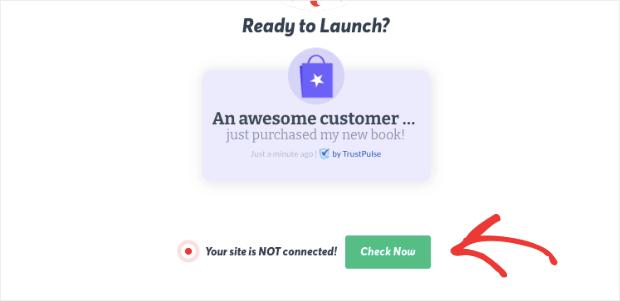 TrustPulse check now