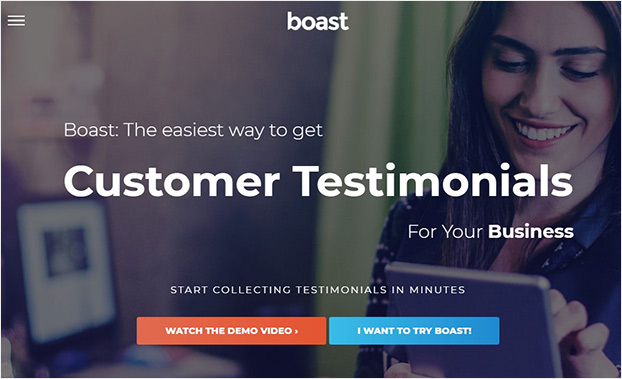 Boast social proof software