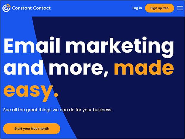 Constant Contact social proof software