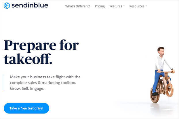 Sendinblue fomo marketing tool