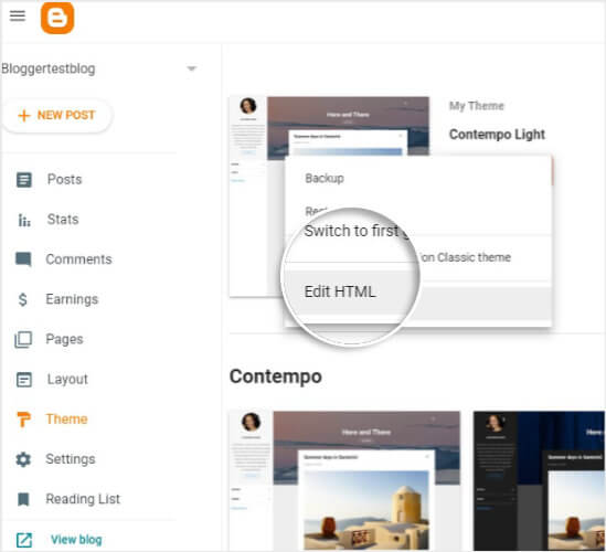 TrustPulse click Edit HTML