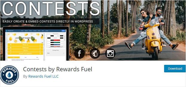 Contests by Rewards fuel_wordpress giveaway plugin