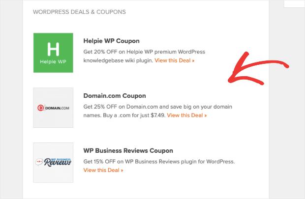 Deals from WPBeginner