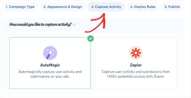 Capture Activity in TrustPulse