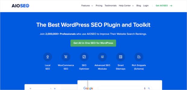 aioseo seo plugin for wordpress