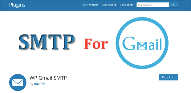 smtp for gmail