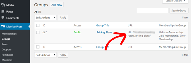 copy group url memberpress