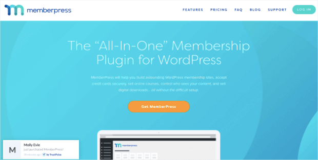memberpress membership plugin homepage