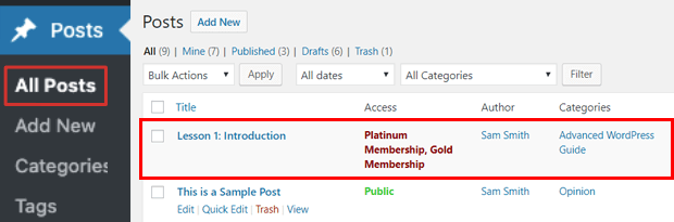 members only content memberpress