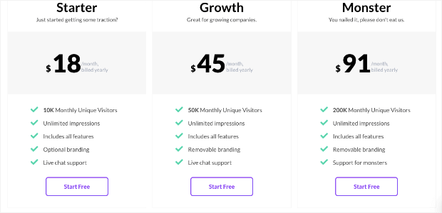 provesource pricing model
