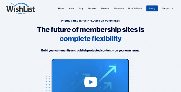 wishlist membership plugin homepage