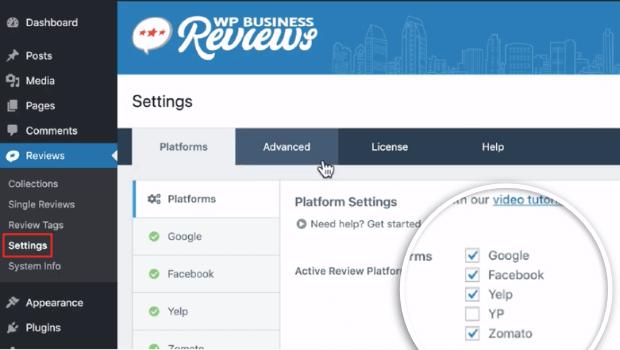 wpbusiness reviews platforms
