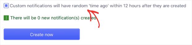 fake custom notifications with beeketing