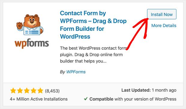 install-wpforms-lite