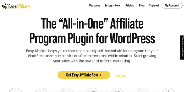 easy affilliate homepage