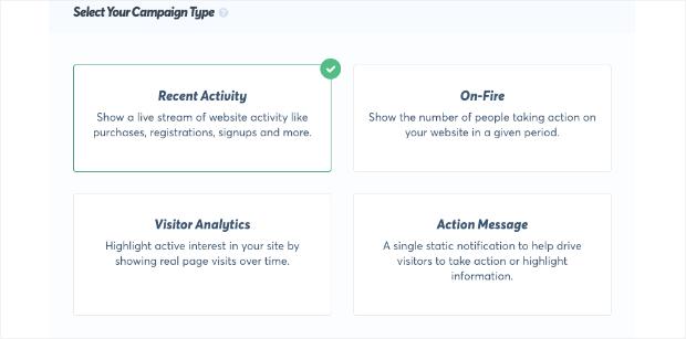 trustpulse campaign types-min