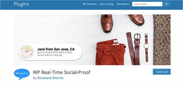 wp real time social proof-min
