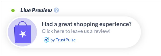great shopping experience example