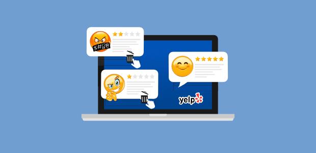 remove bad yelp reviews