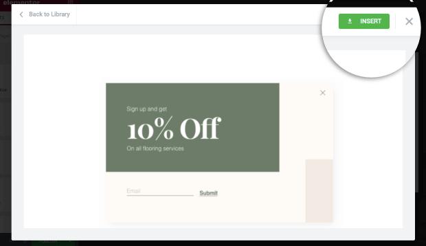 insert-your-elementor-popup-template