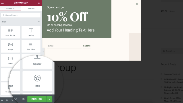 publish-your-elementor-popup